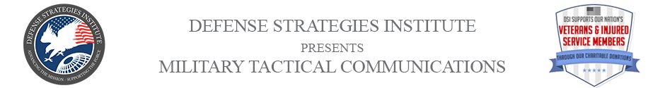 Tactical Communications Summit | DEFENSE STRATEGIES INSTITUTE